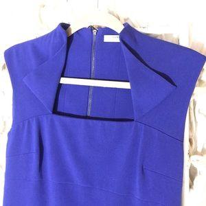Andrew Marc New York Cobalt blue Sheath Dress